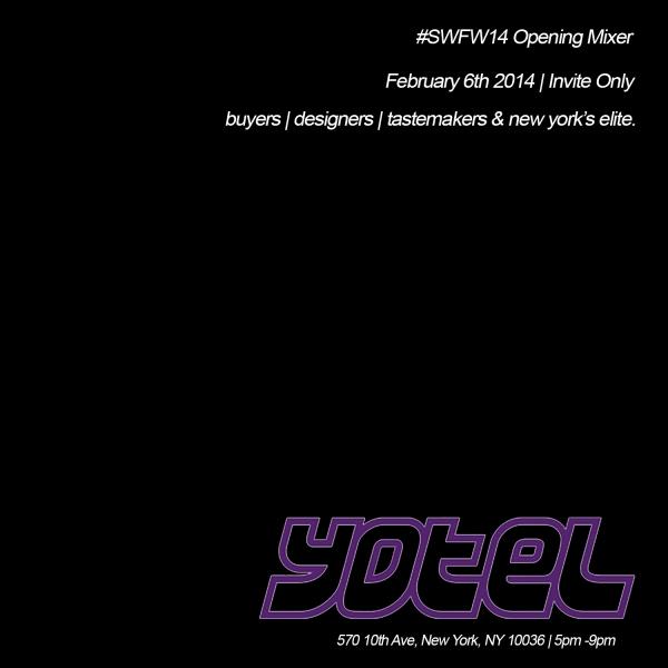 SWFW14 Opening Mixer
